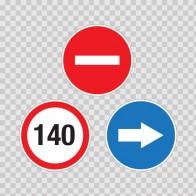 Back Truck Speed Limits 140 Km 08327