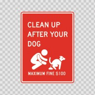 Clean Up After Your Dog 08334