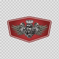 Racing Engine Tuning Emblem 08417