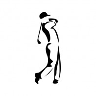 Golf Player Figure 08519