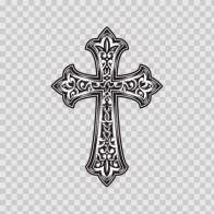 High Detailed Cross Design 08577