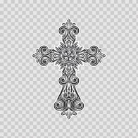 Extremely Detailed Cross Design 08729