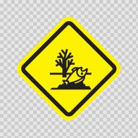 Polluted Area Sign 08996