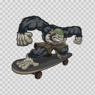 Skateboard Ape Fighter 09168
