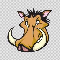 Razorback Wild Pig Head 09203
