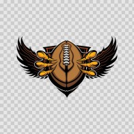 Eagle American Football Symbol 09396