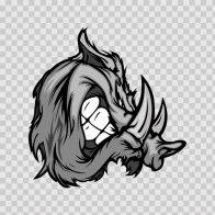 Razorback Wild Pig 09521