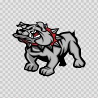 Dog Bulldog 09558