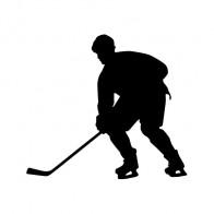Ice Hockey Player Figure 10224