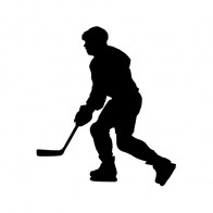 Ice Hockey Player Figure 10229
