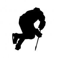 Ice Hockey Player Figure 10231
