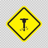 Construction Area Sign 10660