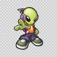 Super Cool Alien 10951
