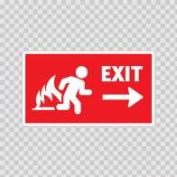 Fire Exit 11093