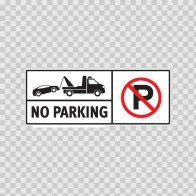 No Parking Sign 11251