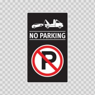 No Parking Sign 11252