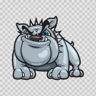 Beware Of Attack Dog Bulldog 11310