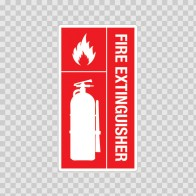Fire Extinguisher Sign 11710