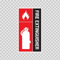 Fire Extinguisher Sign 11711