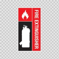 Fire Extinguisher Sign 11712