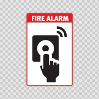 Fire Alarm Sign 11723