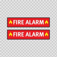 Fire Alarm Sign 11729