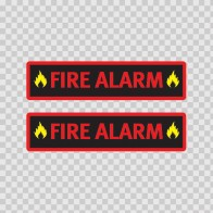 Fire Alarm Sign 11730