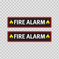 Fire Alarm Sign 11731