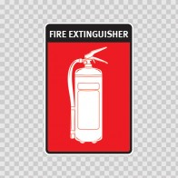 Fire Extinguisher Sign 11734
