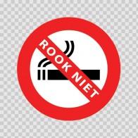 No Smoking Sign Rook Niet 11820