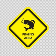 Fishing Area Sign  11839