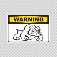 Warning Guard Dogs On Patrol Sign 12134