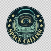 Space Calling Sign 12165