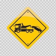 Tow Away Sign 12946