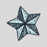 Star Graphic Tattoo Style 13280