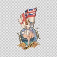 Royal Navy Sign 13797