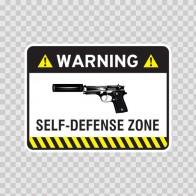 Warning Trespasser Sign 14042
