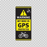 Gps Protected Prevention Sign Bike 14057