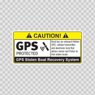 Gps Protected Prevention Sign Boat 14060