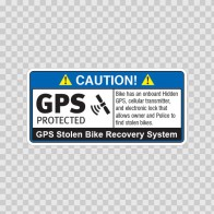 Gps Protected Prevention Sign Bike 14064