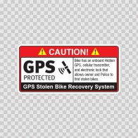 Gps Protected Prevention Sign Bike 14070