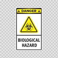 Danger Biological Hazard 14225