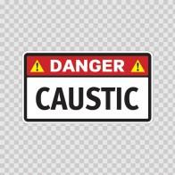 Danger Caustic 14261