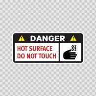 Danger Hot Surface Do Not Touch 14281