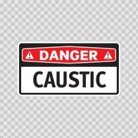 Danger Caustic 14288