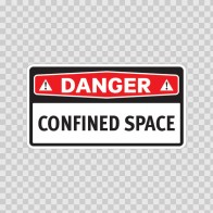 Danger Confined Space 14290