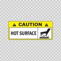 Caution Hot Surface 14324