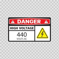 Danger High Voltage 440 Volts Ac 14343