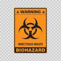 Biohazard Infectious Waste 14391