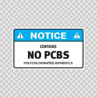 Notice Contains No Pcbs Polychlorinated Biphenyls 14402
